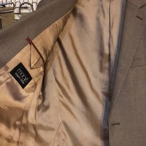 IZOD for MACYS MENS SUIT JACKET